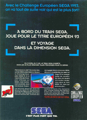 photo d'illustration pour le dossier:Le Train Sega