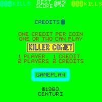 Killer Comet arcade
