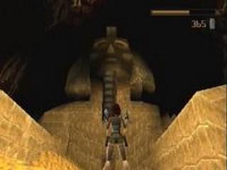 photo d'écran de Tomb Raider dont est tiré la musique:Tomb Raider