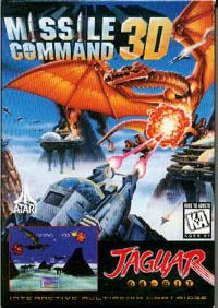 Photo de la boite de Missile Command 3D