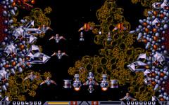 une photo d'écran de Xenon 2 - Megablast sur Atari ST