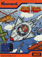 Photo de la boite de Time Pilot