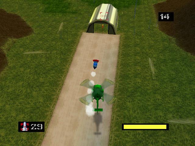 Army Men - Air Combat sur Nintendo 64