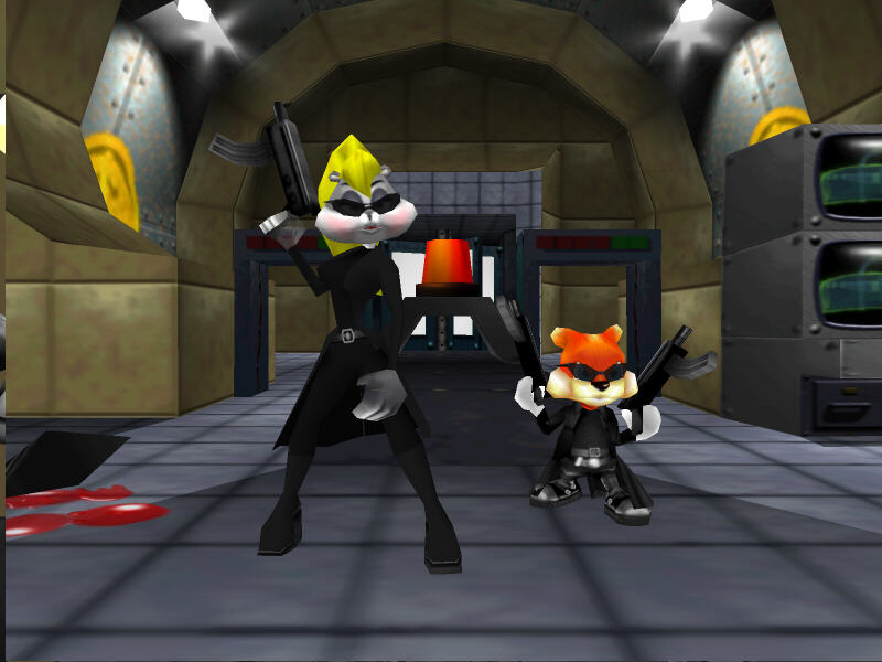 une photo d'écran de Conker s Bad Fur Day sur Nintendo 64