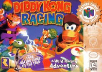 Photo de la boite de Diddy Kong Racing