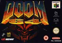 Photo de la boite de Doom 64