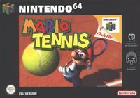 Photo de la boite de Mario Tennis