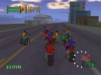 Road Rash 64, capture décran