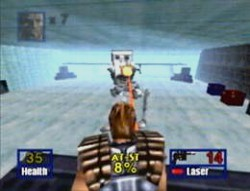 une photo d'écran de Star Wars - Shadows of the Empire sur Nintendo 64
