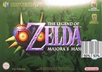 Photo de la boite de The Legend of Zelda - Majora s Mask