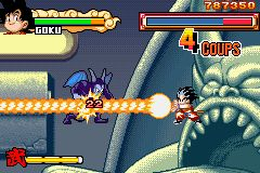 une photo d'écran de Dragon Ball Advanced Adventure sur Nintendo Game Boy Advance