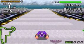 F-Zero Maximum Velocity, capture décran