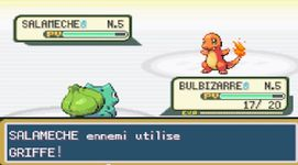 une photo d'écran de Pokemon Vert Feuille sur Nintendo Game Boy Advance
