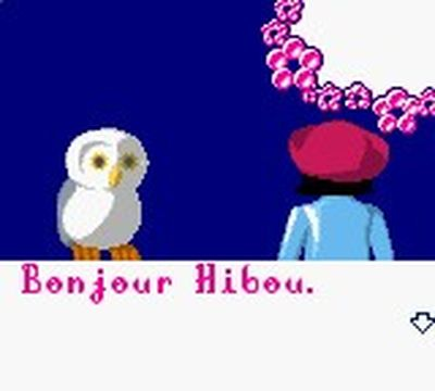 une photo d'écran de Laura sur Nintendo Game Boy Color