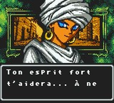 une photo d'écran de Yu-Gi-Oh - Duel des Tenebres sur Nintendo Game Boy Color