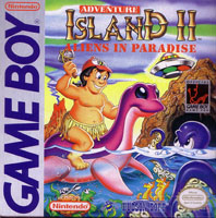 Photo de la boite de Adventure Island 2 - Aliens in Paradise