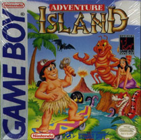 Photo de la boite de Adventure Island