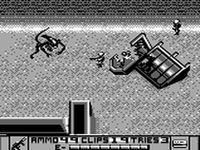une photo d'écran de Alien 3 sur Nintendo Game Boy