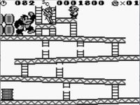 Donkey Kong (Game Boy), capture décran