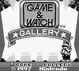 Game and Watch Gallery, capture décran
