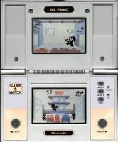 Oil Panic sur Nintendo Game and Watch