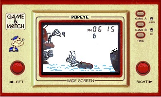 Nintendo Game And Watch POPEYE PP-23 | eBay