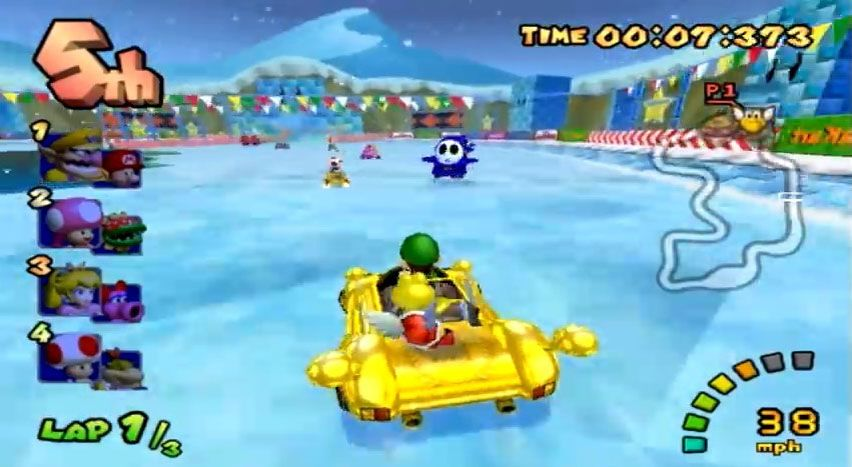 mario kart for game cube