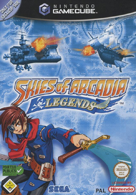 Photo de la boite de Skies of Arcadia Legends