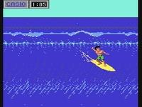 une photo d'écran de California Games sur Nintendo Nes
