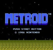 Metroid, capture d'écran