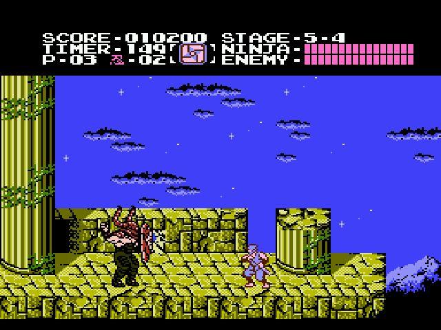 Shadow Warriors sur Nintendo Nes