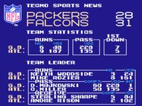 Tecmo Super Bowl, capture décran