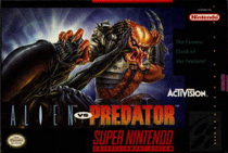 Photo de la boite de Alien VS Predator (Super Nintendo)
