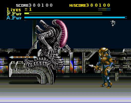 Alien VS Predator (Super Nintendo) sur Nintendo Super Nes