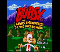 Bubsy in Claws Encounters the Furry Kind, capture décran