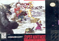 Photo de la boite de Chrono Trigger