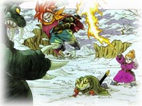 Chrono Trigger, capture décran