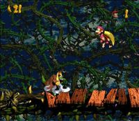 Donkey Kong Country 2 sur Nintendo Super Nes