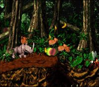 Donkey Kong Country 2, capture décran