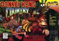 Photo de la boite de Donkey Kong Country
