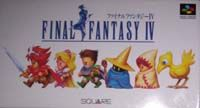 Photo de la boite de Final Fantasy 4