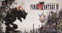 Photo de la boite de Final Fantasy 6