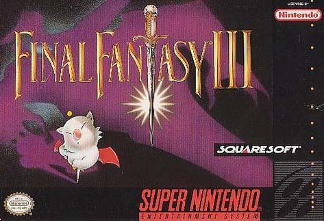 une photo d'écran de Final Fantasy 6 sur Nintendo Super Nes