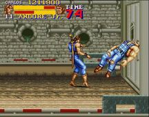 une photo d'�cran de Final Fight 2 sur Nintendo Super Nes