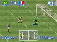 International Superstar Soccer, capture d'écran