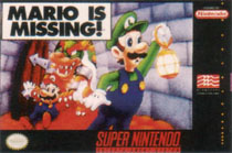 Photo de la boite de Mario is Missing