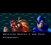 une photo d'écran de Mega Man X-3 sur Nintendo Super Nes