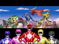 une photo d'écran de Mighty Morphin Power Rangers Fighting Edition sur Nintendo Super Nes