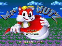 une photo d'écran de Mr Nutz sur Nintendo Super Nes