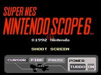 Nintendo Scope 6 sur Nintendo Super Nes